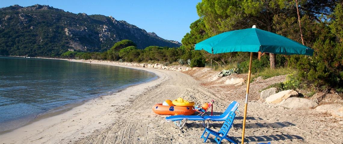 Santa-Giulia-op-Corsica,-voor-een-heerlijke-strandvakantie