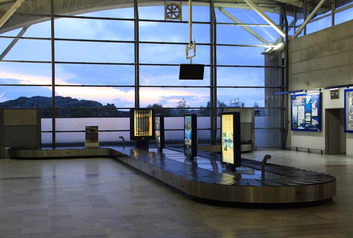 Bagageband-Figari-Airport