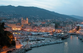 Bastia Corsica - Vieux port