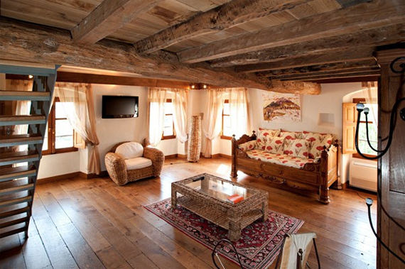 Bed-and-breakfast-op-Corsica-woonkamer