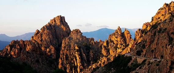 Calanques-de-Piana-bergen