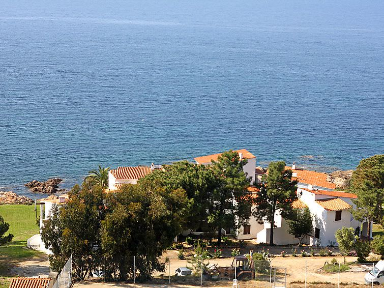 Calcatoggio - Appartement Punta Paliagi in Calcatoggio Corsica uitzicht