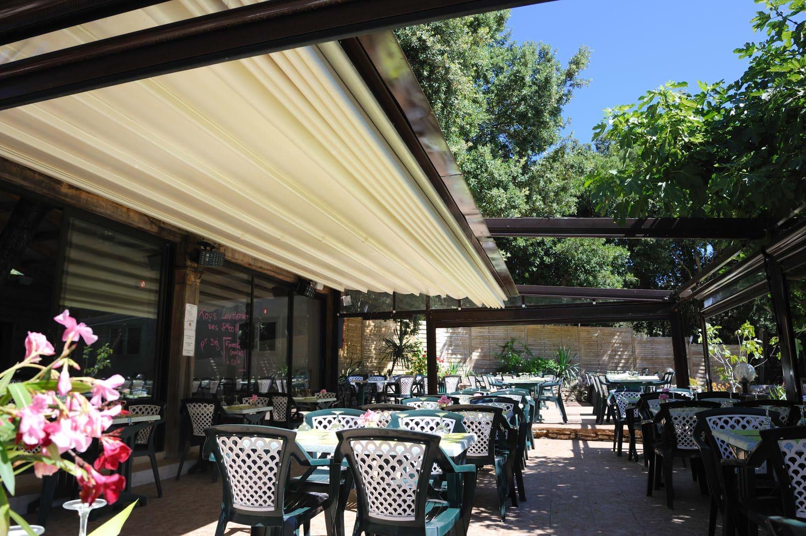 Camping Campo di Liccia Bonifacio restaurant