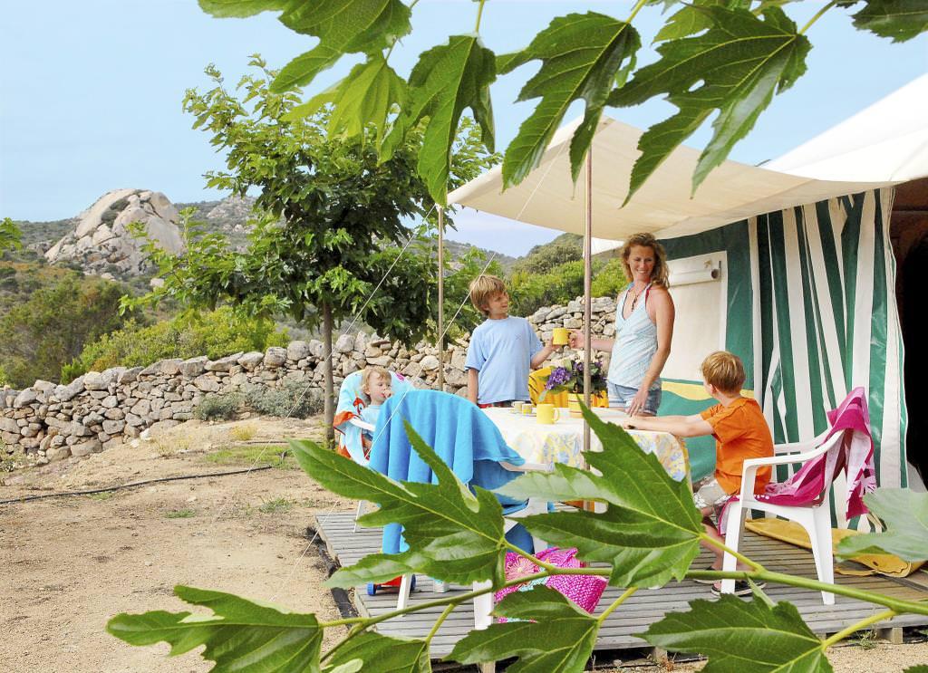 Camping-L'Avena-Corsica-ontbijt