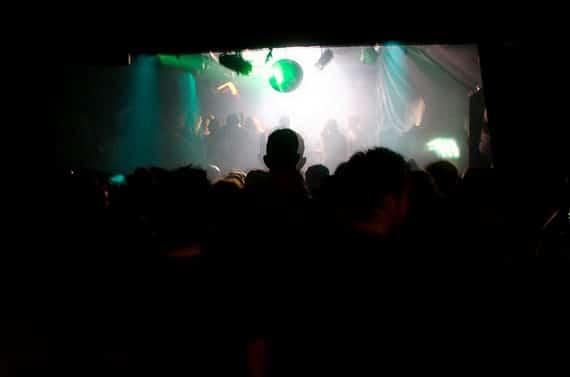 Discotheek-zaal