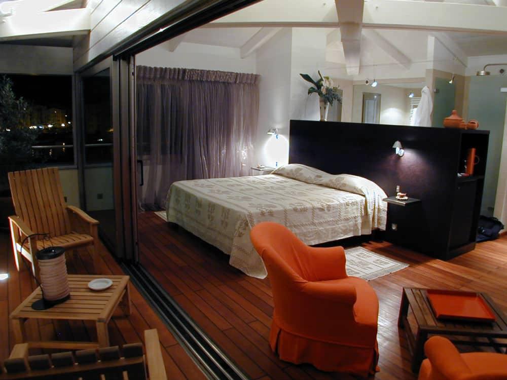 Hotel Genovese Bonifacio kamer