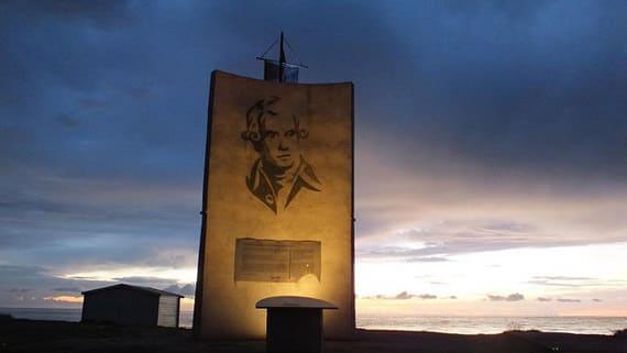 Moriani-Plage-monument-Pascal-Paoli