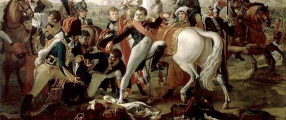 Napoleon-op-het-slagveld