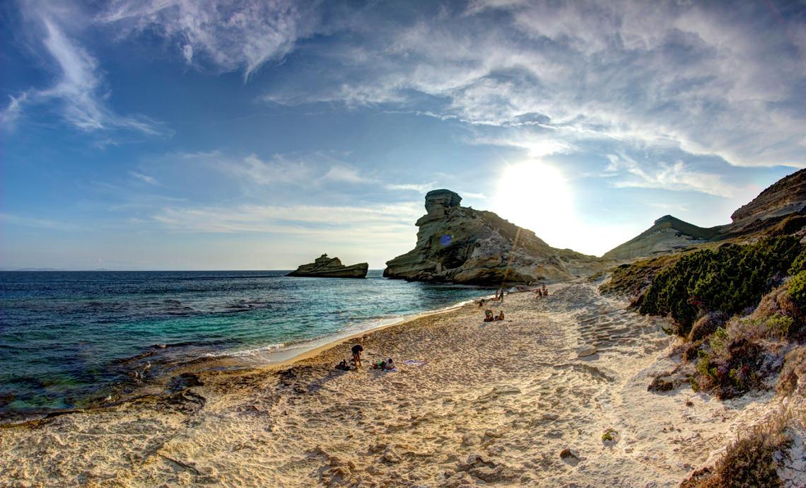 Pertusato-Zuid-Corsica-strand