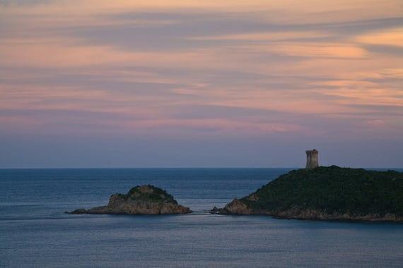 Punta-Fautea-zonsondergang