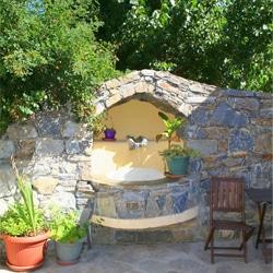 Residence Restonica - Binnenplaats