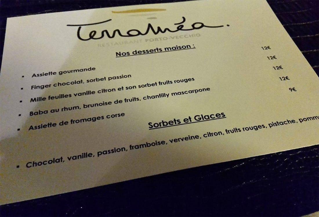 Restaurant-Terramea-kaart