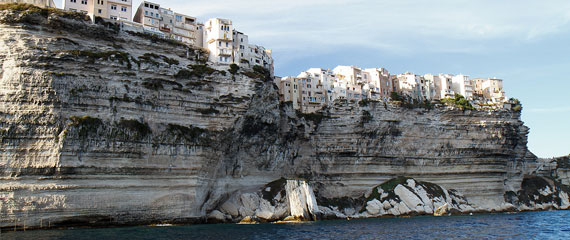 Rotswand-Bonifacio-Corsica