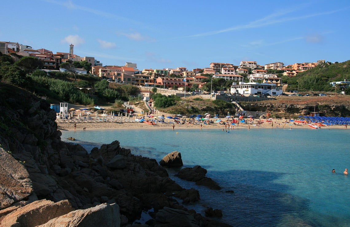 Strand-bij-Santa-Teresa-di-Gallura