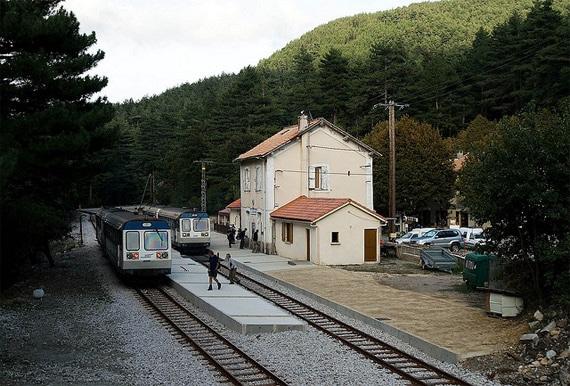 Vizzavona-centraal-station