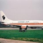 Vliegtuig-Corse-Air