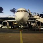 Vliegtuig-vertrek-Figari-Vliegveld
