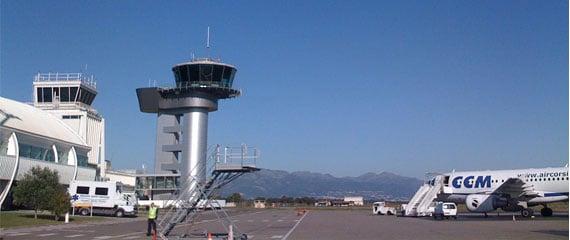 Vliegveld-Bastia-in-Corsica