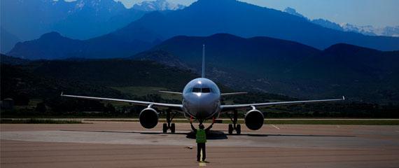 Vliegveld-Calvi-in-Corsica
