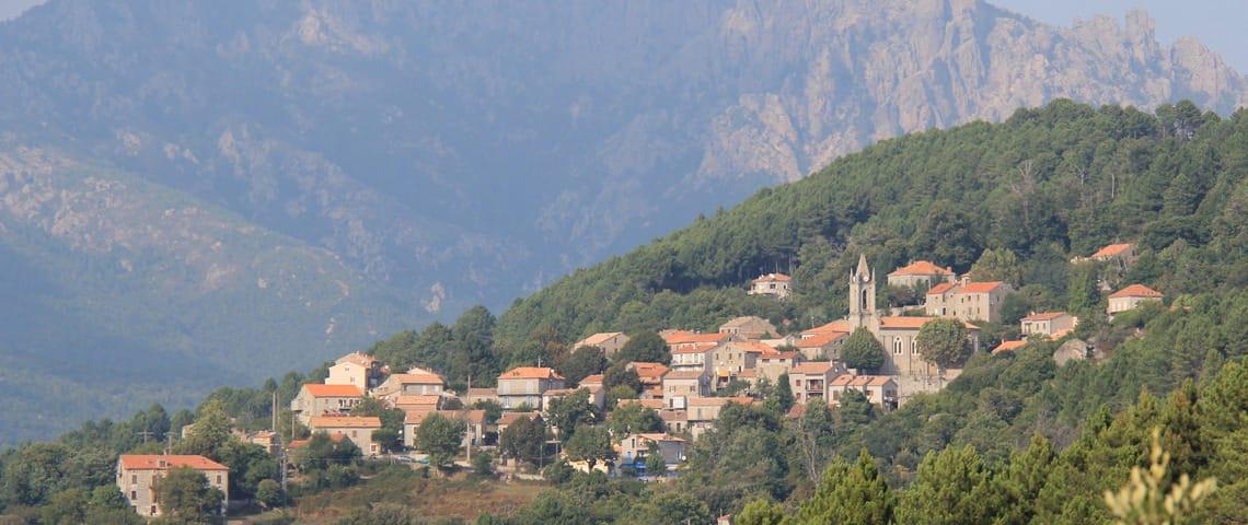 Zonza-dorp