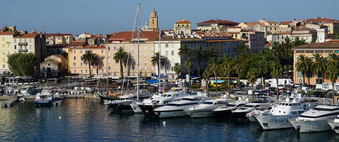Ajaccio-Jachthaven