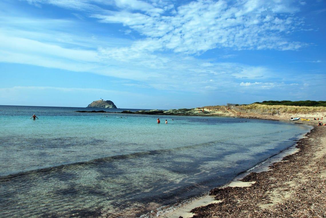 Barcaggio-strand