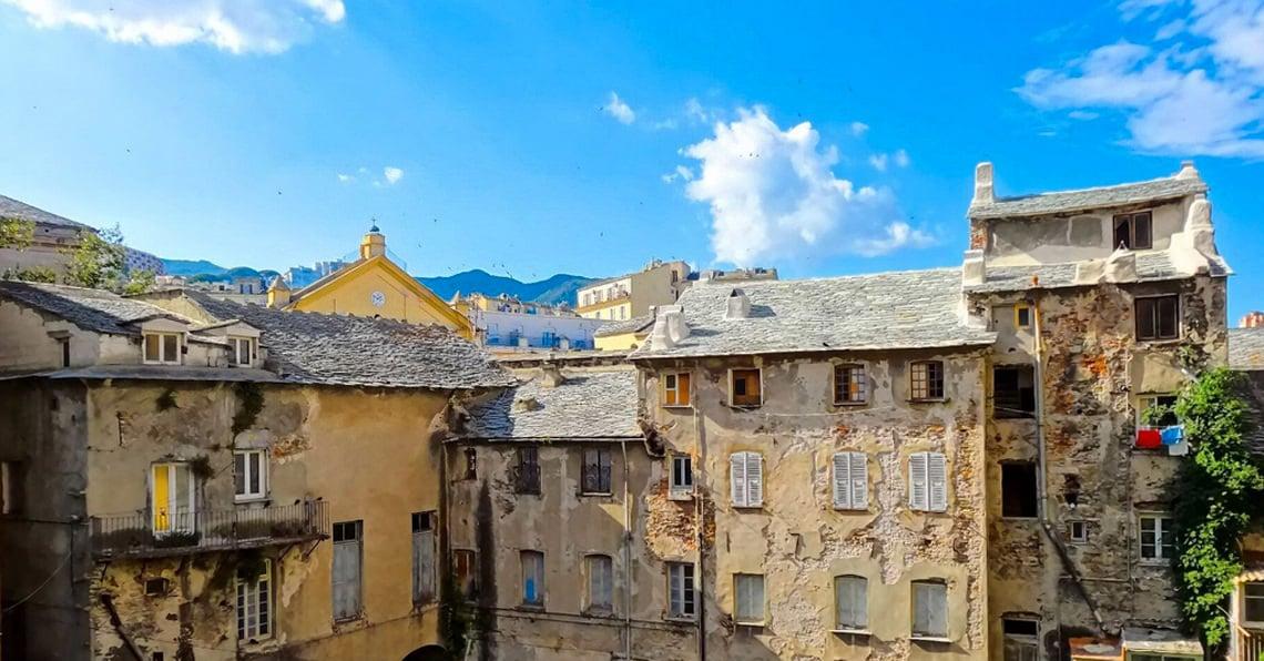 Bastia-oude-gebouwen