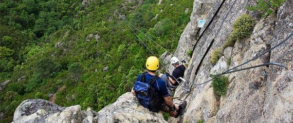 Berg-beklimmen-Corsica