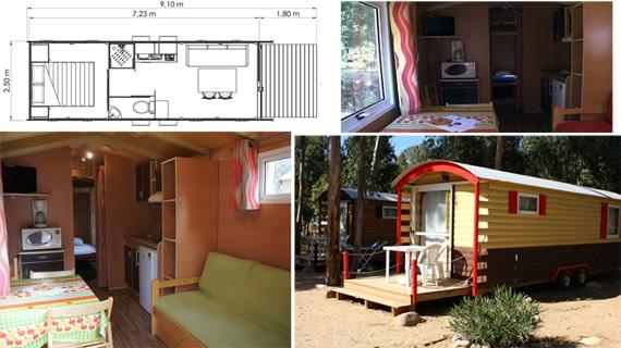 Camping-La-Pinede-Corsica-stacaravan-2