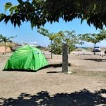 Camping 'Les Sables Rouges' in Bastia