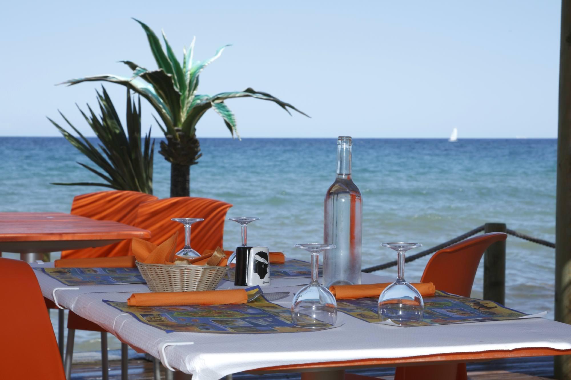 Camping Merendella Moriani Corsica restaurant