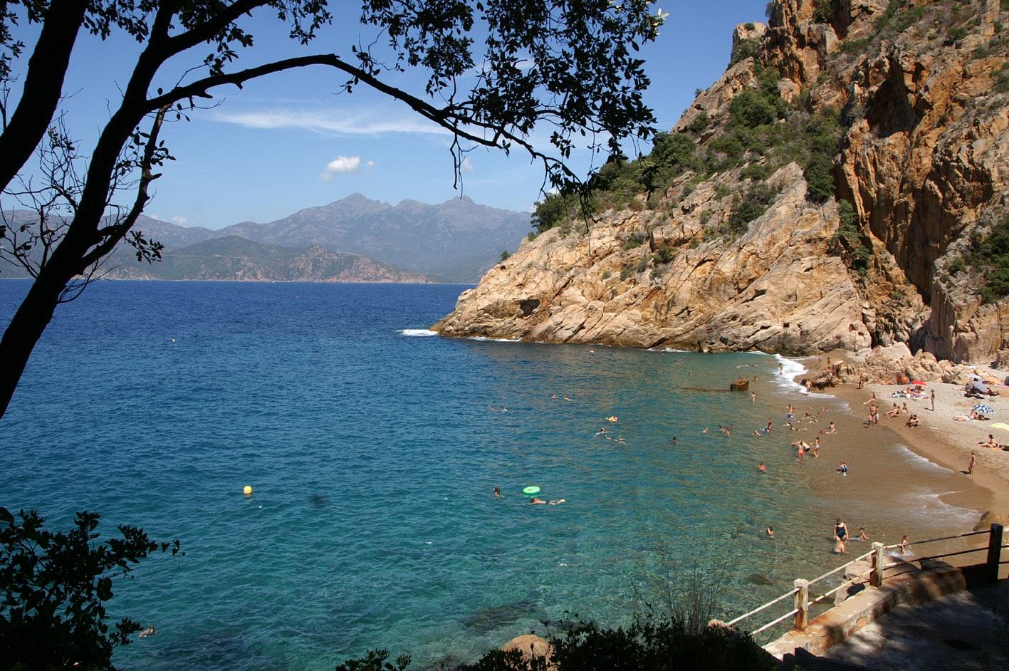 Strand-Corsica