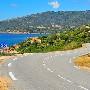 De wegen op Corsica