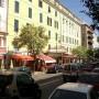 Cours Napoléon, de belangrijkste straat van Ajaccio