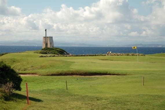 Golfbaan-Corsica