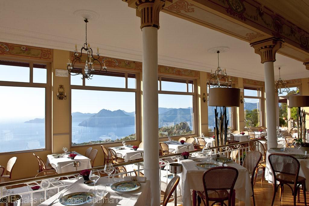 Hotel Les Roches Rouges Piana Corsica restaurant