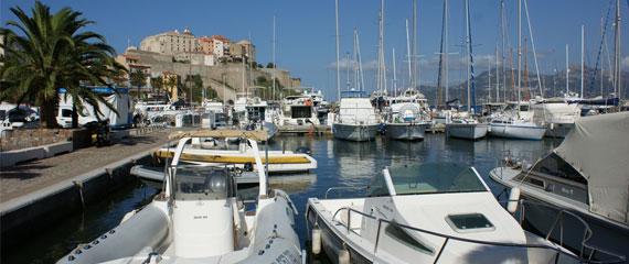Jachthaven-Calvi-Corsica
