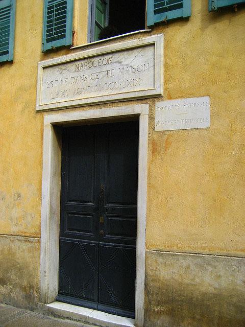 Mais-Bonaparte-huis-van-Napoleon-deur