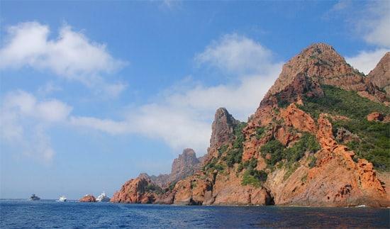 Natuurreservaat-Scandola-kust