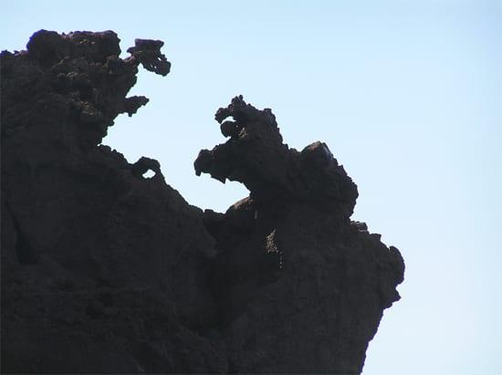 Natuurreservaat-Scandola-sculpturen-stier-vogel