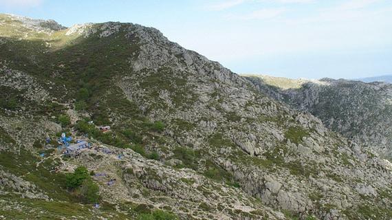 Rondreis-GR20-Zuid-op-Corsica-voorbeeld-kamp