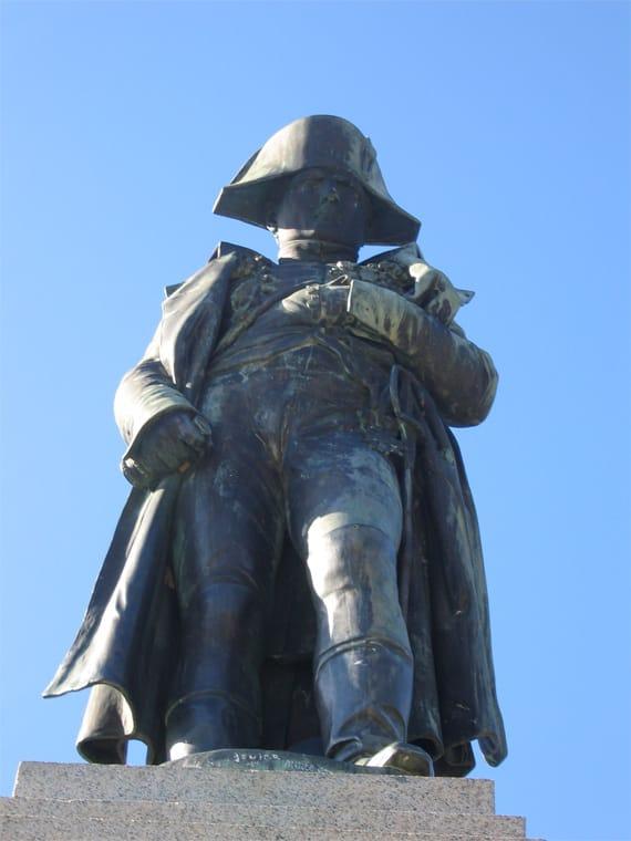 Standbeeld-Napoleon-Ajaccio
