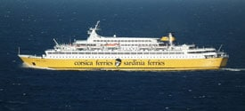 Veerboot-naar-Corsica